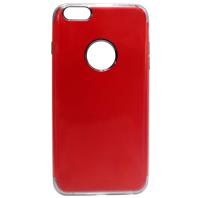size 40 61b3c 8425d SULADA iPhone 6/6s plus Electroplated Fluorescent Red TPU Back Case
